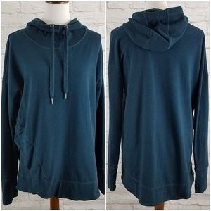 Sweaty Betty London Hoodie Funnel Neck Lagenlook